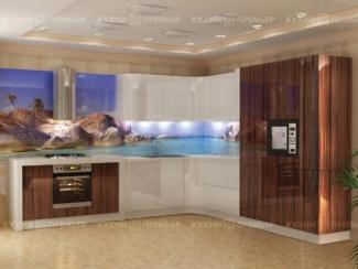 Кухня Светлана Шпон - Мебельная фабрика «Кухни Премьер»