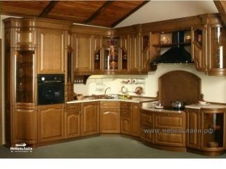 Классическая кухня из массива дерева - Мебельная фабрика «МебельЛайн»