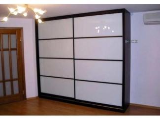 Черно-белый шкаф-купе  - Мебельная фабрика «Тритон»