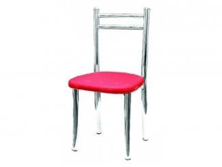 Детский розовый стул