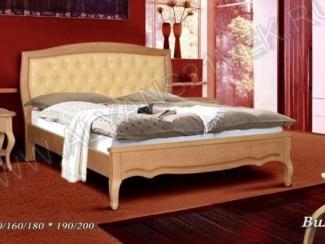 Кровать из дерева Вилора - Мебельная фабрика «Альянс 21 век»