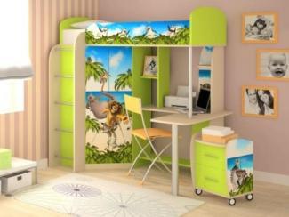 Детская комбинированная Мадагаскар 2 - Мебельная фабрика «Ивушка»