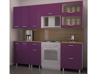 Кухонный гарнитур прямой Фиолет - Мебельная фабрика «Бител»