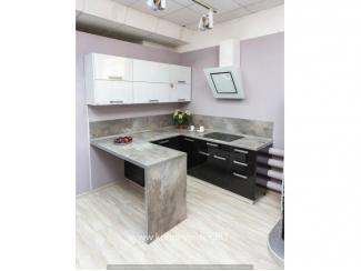 Кухонный гарнитур   ФАБУЛА (Fabula) с барной стойкой - Мебельная фабрика «Кухни Вардек»