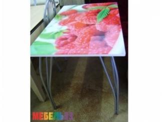 Стол обеденный с фотопечатью  - Изготовление мебели на заказ «Мебель 33»