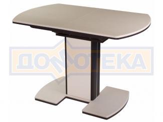 стол обеденный Реал ПО КМ в комплектации с 05 - Мебельная фабрика «Домотека»