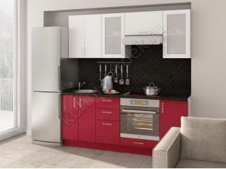 Кухонный гарнитур прямой Витрум - Мебельная фабрика «Кухни Вардек»