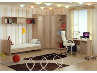 Спальня детская Милания - рисунок Невада - Мебельная фабрика «БелДревМебель»