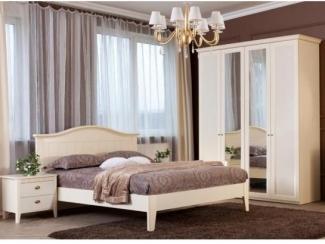 Мебель для спальни Лагуна в белом цвете