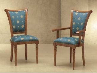 Синий стул со спинкой Venera - Импортёр мебели «Spazio Casa»