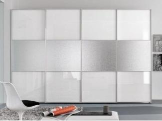 Белый шкаф-купе 45 - Мебельная фабрика «Триана»