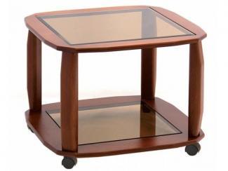 Стол журнальный Варьете 6.3 - Мебельная фабрика «Мебель из стекла»