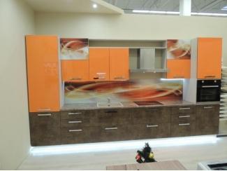 Яркая прямая кухня - Мебельная фабрика «Дил-Мебель», г. Ульяновск