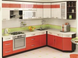 Кухонный гарнитур угловой Оранж 9 - Мебельная фабрика «Витра»