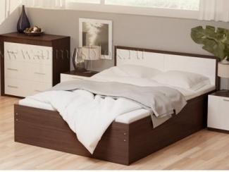 Простая кровать Елена  - Мебельная фабрика «Армос»