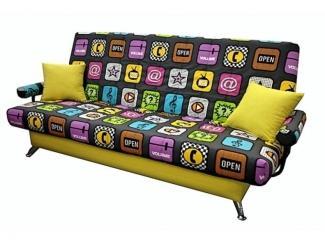 Диван прямой Лоджекс клик-кляк - Мебельная фабрика «Мебель-54»