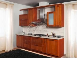 Кухня из массива 10 - Мебельная фабрика «Ренессанс» г. Кузнецк