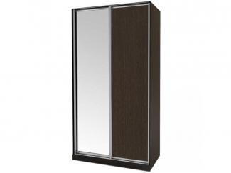 Шкаф-купе с зеркалом Элегант 1 - Мебельная фабрика «Маэстро»