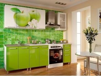 Кухня с фотопечатью 003 - Мебельная фабрика «Гранд Мебель»
