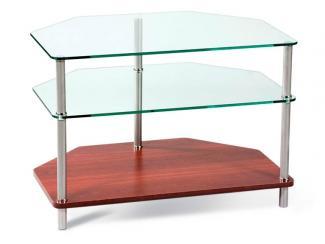 ТВ тумба - стеллаж Лайн 25 - Мебельная фабрика «Sheffilton»