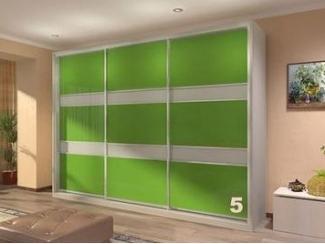 Зеленый шкаф-купе Оракал