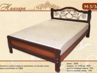 кровать Ниагара М-3-3к - Мебельная фабрика «Селена»