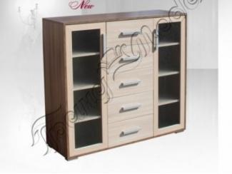 Комод со стеклом  - Мебельная фабрика «Гранд-мебель»
