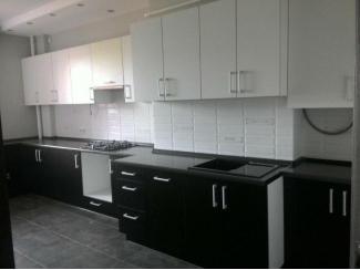 Черно-белая кухня - Мебельная фабрика «Альфа-Мебель»