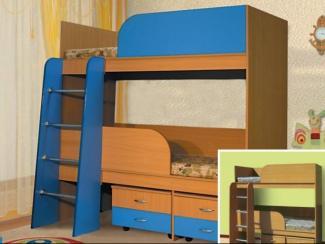 кровать детская 2х ярусная - Мебельная фабрика «Долес»