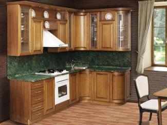 Кухонный гарнитур «Нижегородец МС-32» (Массив) - Мебельная фабрика «Нижегородец»