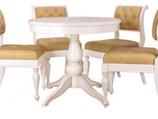 Круглый обеденный стол Венеция