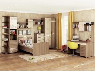 Спальня подростковая Бриз 2 - Мебельная фабрика «Витра»