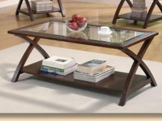 Стеклянный журнальный стол 701527