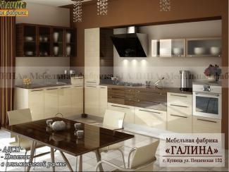 Кухонный гарнитур 03 - Мебельная фабрика «Галина»