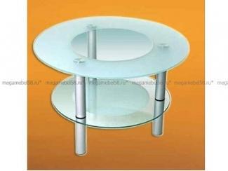 Стеклянный журнальный столик Мистик  - Мебельная фабрика «МЕГА-мебель»