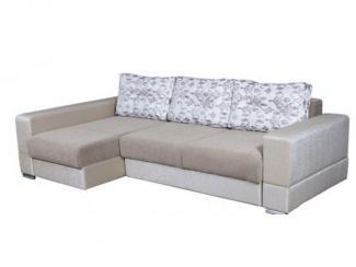 Диван угловой Сандра 08 с оттоманкой - Мебельная фабрика «Норма»