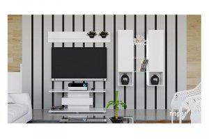 Модульная гостиная Diamond Белый глянец - Мебельная фабрика «ТриЯ»