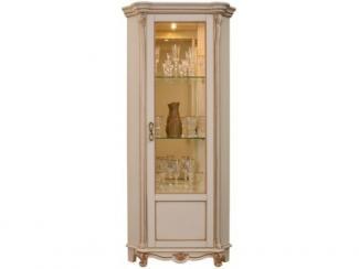 Шкаф с витриной Алези 10 П350.13 - Мебельная фабрика «Пинскдрев»