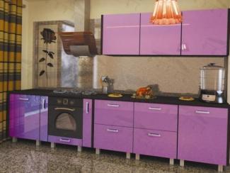 Кухонный гарнитур прямой Глэм1 - Мебельная фабрика «Фарес»