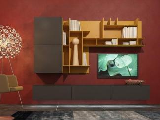 Гостиная стенка 027 - Мебельная фабрика «Mr.Doors»