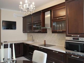 Кухонный гарнитур Береза цвет итальянский орех