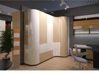 Радиусный шкаф-купе - Мебельная фабрика «Bonawentura»