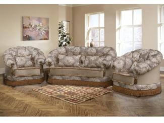 Диван прямой Ника (бахрома) - Мебельная фабрика «Миал», г. Краснодар
