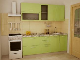 Кухня прямая Стандарт 2000.1 - Мебельная фабрика «Престиж»