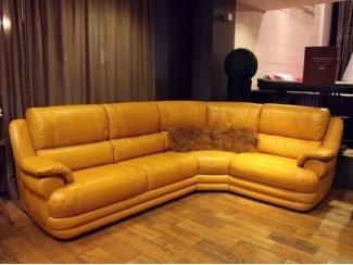 Кожзам угловой диван Софт Лофт - Мебельная фабрика «Британика»