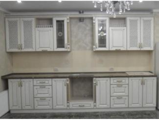 Высокая прямая кухня Неаполь  - Мебельная фабрика «Вектра-мебель»