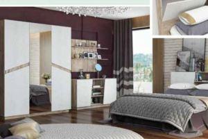 Спальный гарнитур Лайт - Мебельная фабрика «КМК»