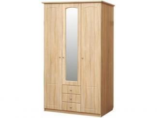 Шкаф трехдверный Ассоль П327.01