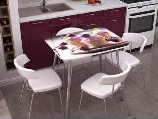 Стол с фотопечатью Десерт - Мебельная фабрика «Стендмебель»