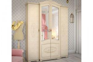 Шкаф платяной Валенсия МДФ  - Мебельная фабрика «Вестра»